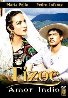 Tizoc 1960 Pedro Infante Maria Felix New DVD