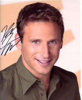 Mark Feuersein of Royal Pains Color Auographed
