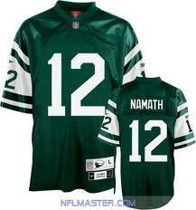 Joe Namath New York Jets Reebok 1966 Sewn XXL Throwback Premier Jersey