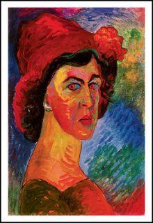 Art Poster Marianne Von Werefkin Self Portrait