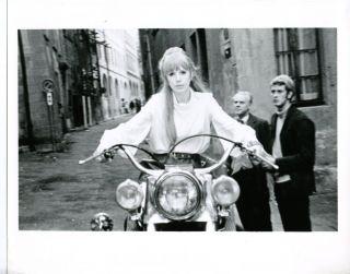 Marianne Faithfull Girl on A Motorcycle Orig Still C65