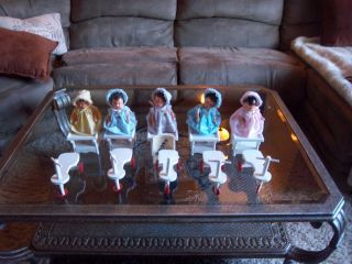 1936 Dionne Quintuplet Dolls and Furniture Awesome Send Offers