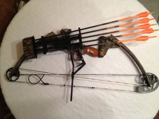 Complete Compound Bow Package Ready to Hunt