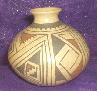 Mata Ortiz Mexican Mexico Pottery Pot Manuel L Olivas