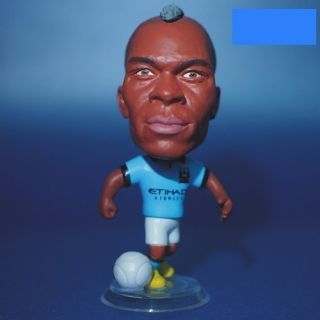 Jersey Man City Mario Balotelli Detailed Doll Figure Toy