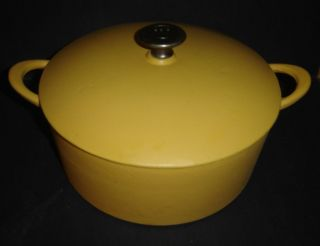 Mario Batali Cast Iron Enamel 5 6 Qt Stock Pot Round Dutch Oven