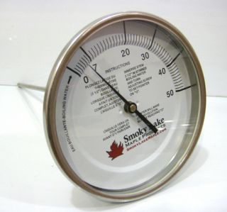 Maple Syrup Dial Thermometer Pan Mounted