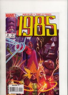 Marvel Avengers 1985 2 by Mark Millar and Tommy Lee Edwards