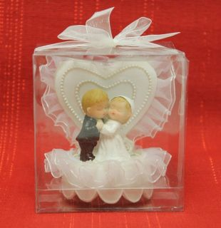 Bride Groom Wedding Cake Topper Favor Marriage Love New