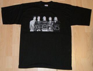 Maroon 5 Honda Civic Tour 2005 T Shirt Medium Brand New She Will Be