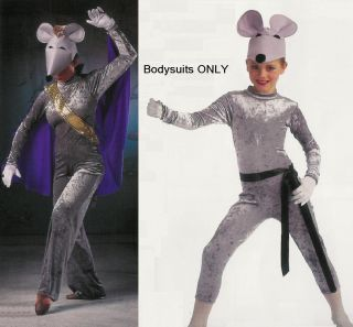 Mouse Marching Marquis de Nutcracker Dance Bodysuit Costume Elephant