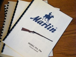 Marlin 39 39A 39M Lever Action 22 Rifle Owners Manual