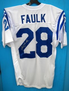 Marshall Faulk Signed Jersey with COA