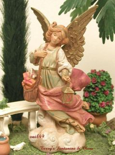 DEPOSE ITLAY 5 RETIRED ANGEL MARIEL NATIVITY VILLAGE FIGURE 75523 BOX