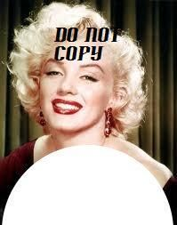 15 Waterslide Nail Art Decals Marilyn Monroe French Tip