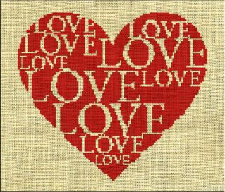 Wedding Marriage Love Counted Cross Stitch Pattern