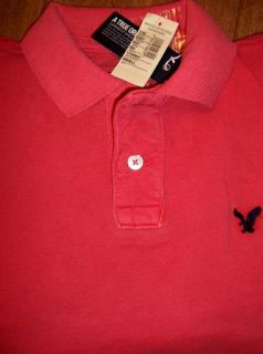 Mens American Eagle SS Polo Shirt Size s New