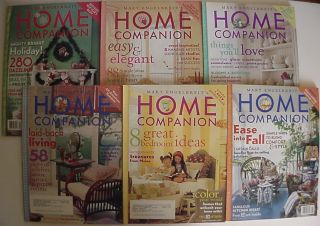 Lot of 6 Mary Engelbreit 2004 Home Companion Magazines