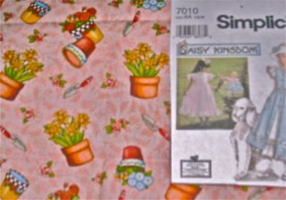 Mary Engelbreit Garden Doll Dress Kit Am Girl