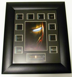 Marvel Studios Iron Man Movie Film Cell Photo Frame Wall Decal Action