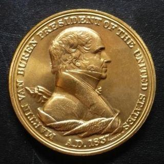 Martin Van Buren 8th President Historial 1857 Token Coin Medal US