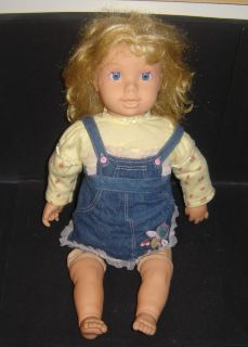 Love Grow Suzie Grow Up Doll from Baby to Toddler Talks Listens Sings