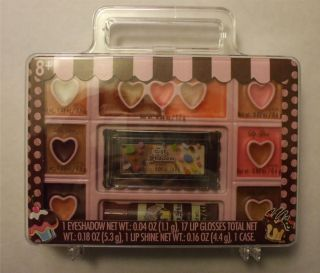 The Sweet Shop Markwins Eyeshadow Lip Gloss Shine Makeup Kit Ages 8