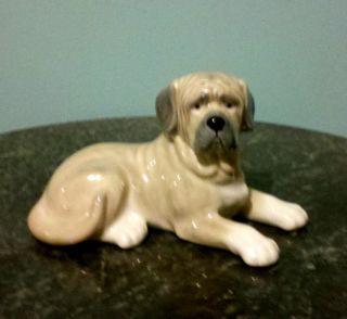 MASTIFF DOG Porcelain Ceramic Figurine Statute DNC Fine Collectibles 7