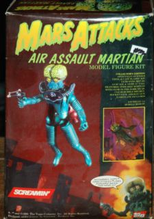 Screamin Mars Attacks 1 8 Air Assault Martian SEALED