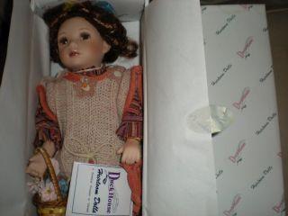 Duck House Porcelain Heirloom Doll Mattie
