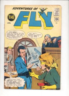 Adventures of the Fly 25 1963 Silver Age Archie Comics superhero Fly