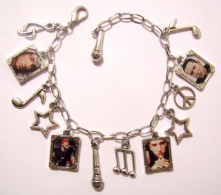 Eminem Marshall Mathers Rap Star Photo Charm Bracelet