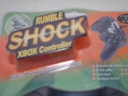 MAXIMO RUMBLE SHOCK XBOX CONTROLLER DUAL SLOTS FOR MEMORY CARDS