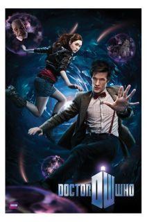 Dr Who Poster Vortex Matt Smith New 11th Doctor
