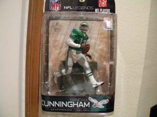 McFarlane NFL Legends Randall Cunningham RARE Variant