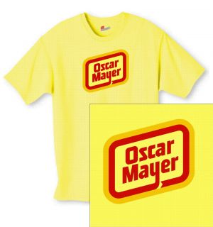 Oscar Mayer T Shirt Funny Novelty Cool Humor Punk Emo