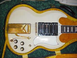 Les Pauls Wife Mary Fords 1961 Gibson Les Paul Custom Guitar