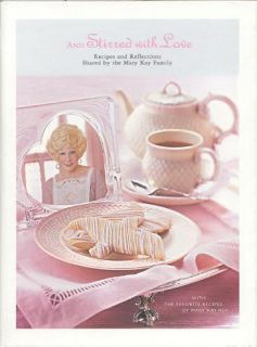 Mary Kay Ash and Stirred with Love Cookbook Cook Book