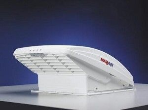 MaxxAir 00 07000K MaxxFan White Power Roof Vent Remote Control Maxx