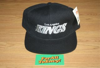 Los Angeles Kings Starter snapback hat NWT Eazy E NWA MC Ren Cube Dre