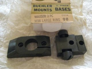 Maynard Buehler Scope Mount K98 Mauser Large Ring