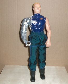 Max Steel Psycho Action Figure Mattel 1998