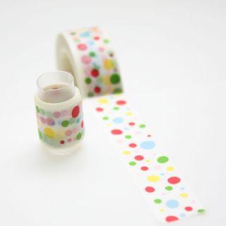 Washi Tape paper masking tape 100cm Colorful Dot J 033 Buy Get More