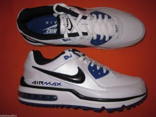 Mens Nike Air Max Wright Shoes Sneakers 317551 194 White Royal New