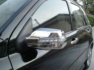 MAZDA 2 3 6 CHROME LED LIGHT DOOR WING MIRROR COVER TRIM KIT DEMIO