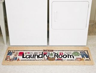 New Extra Large Laundry Room Mat 58 L x 20 w Rug Runner