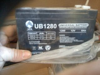 UB1280 12 Volt Rechargeable Batteries
