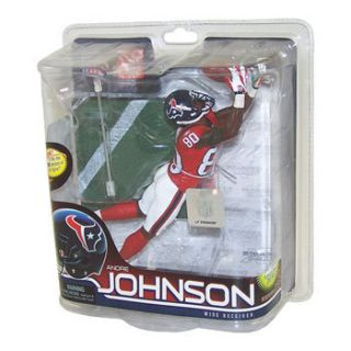 McFarlane Toy Action Figure NFL Sports Picks 28 ANDRE JOHNSON Red