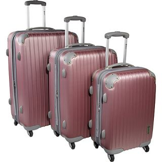 Mcbrine Luggage Eco Friendly 3 PC Spinner Hard Side
