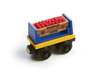 McColls Scented Wooden Apple Cargo Car Thomas Tank Engine